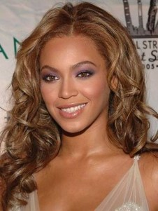 Beyonce Hot Style Wavy Long Celebrity Wig