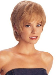 Red Layeluxury Sides Synthetic Wig