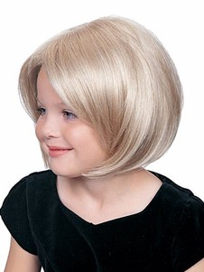 Lace Front Bob Straight Girl's Wig