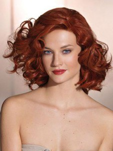 Synthetic Impressive Wavy Lace Front Wig