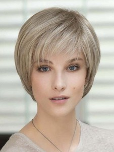 Full Lace Short New Style Fantasy Remy Human Hair Wig