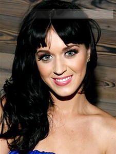 Katy Perry Wavy Capless Long Celebrity Wig