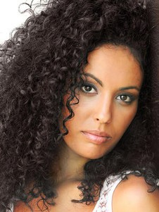 Synthetic Full Lace Curly African American Wig