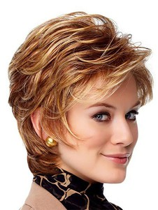 Point Mono Vantage Top Lace Front Wig For Woman