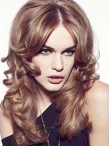 Synthetic Wavy Stylish Lace Front Wig