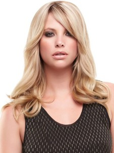 Lace Front Cheap Blonde Wavy Wig
