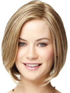 Straight Graceful Lace Front Bob Wig