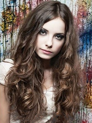 Synthetic Wavy Pleasant Lace Front Wig - Image 1