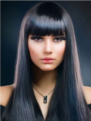 Fashion Elegante Capless Straight Wig - Image 1