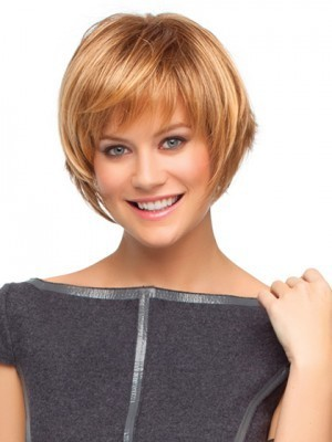 Choppy Bob Style Wig With Razored Ends - Image 1
