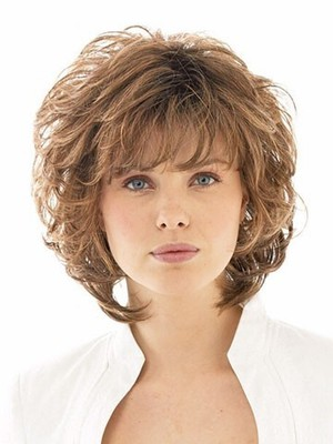 Red Shoulder Stunning Layelength Synthetic Wig - Image 2