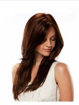 Straight Human Hair Lace Wig For Woman - Image 1