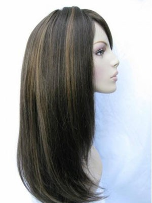 Comfortable Straight Synthetic Capless Wig - Image 3