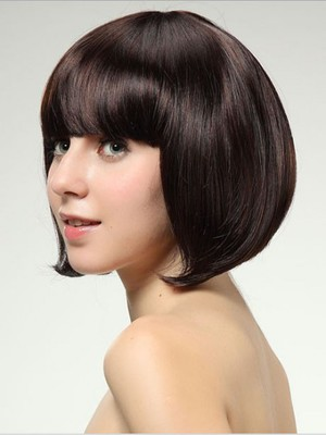Straight Attractive Synthetic Capless Wig - Image 2