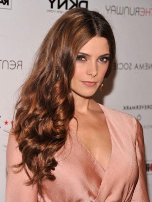 Stylish Wavy Human Hair Lace Front Wig - Image 1