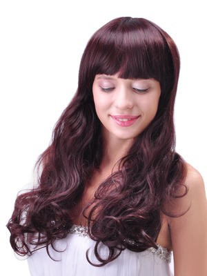Fashion Long Synthetic Comfortable Wavy Capless Wig - Image 3