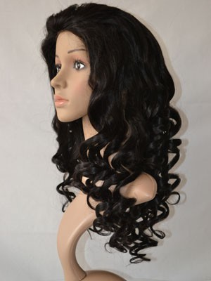 Lace Front Synthetic Fabulous Wavy Wig - Image 2