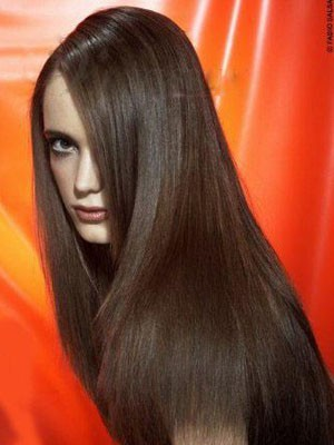 Stunning Full Lace Straight Remy Human Hair Wig - Image 1