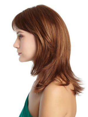 Straight Lace Front Charming Soft Remy Human Hair Wig - Image 3
