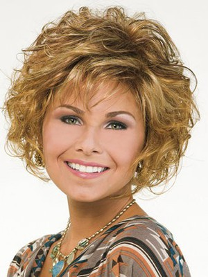 Short Synthetic Capless Nature Wig - Image 1