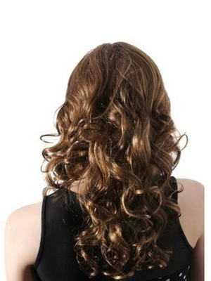 Wavy Lace Fashion Front With Mono Synthetic Wig  - Image 4