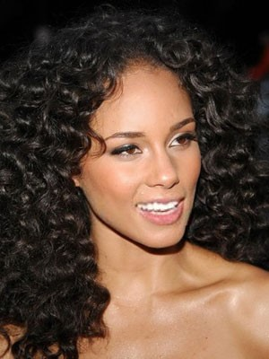 Synthetic Curly Lace Front Wig - Image 1