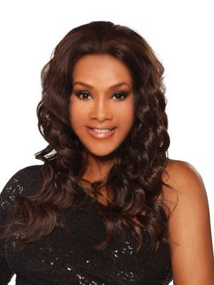 Synthetic Comfortable Wavy Lace Front Wig - Image 1