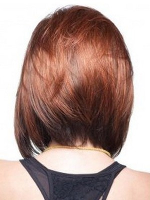 Fashion Straight Short Human Hair Bob Wig - Image 3