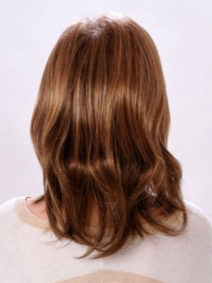 Short Synthetic Capless Straight Wig - Image 3