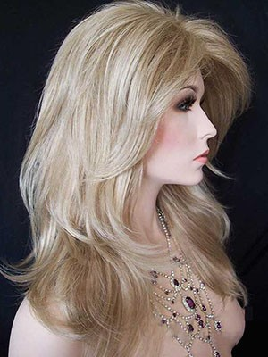 Cute Synthetic Lace Front Straight Wig - Image 2