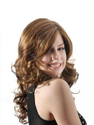 Wavy Lace Fashion Front With Mono Synthetic Wig  - Image 2
