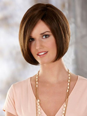 Synthetic Straight Admirable Capless Wig - Image 1