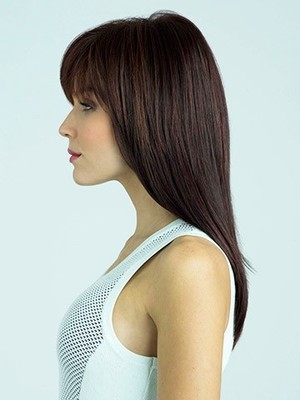 Straight Synthetic Fashionable Capless Wig - Image 2
