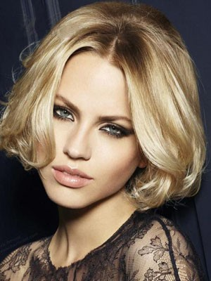 Length Medium New Style Lace Front Human Hair Wig - Image 1