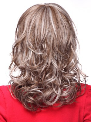 Classic Wavy Synthetic Capless Wig - Image 3