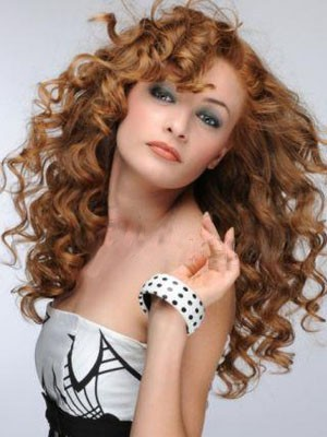 Lace Front Wavy Elegant Long Synthetic Wig - Image 1