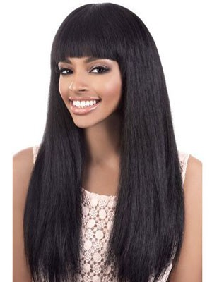 Wonderful Straight Human Hair Capless Wig - Image 1