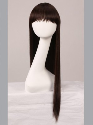 Capless Straight Luxury Incredible Remy Human Hair Wig - Image 2