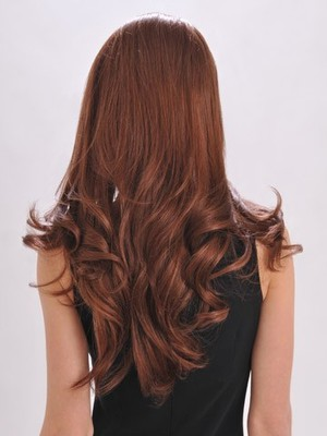 Long Human Hair Durable Lace Front Wig - Image 3