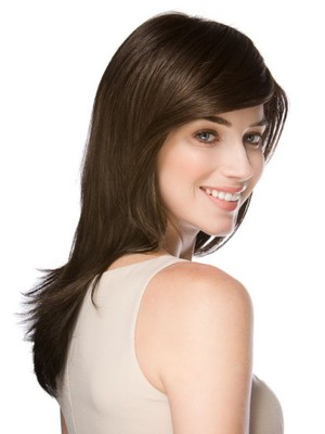 Luxury Straight Long Natural Synthetic Wig - Image 3