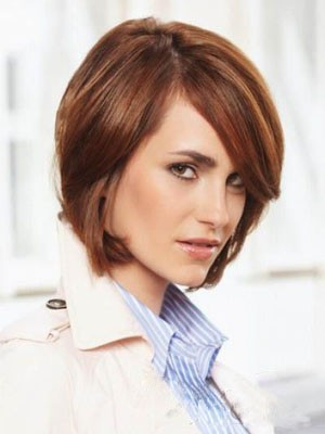 Straight Affordable Lace Front Remy Human Hair Wig - Image 1