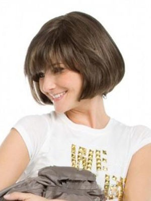 Chic Straight Synthetic Capless Wig - Image 1