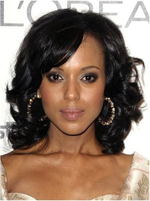Synthetic Wavy Classic Lace Front Wig - Image 1