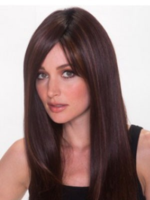 Synthetic Straight Fashionable Lace Front Wig - Image 1