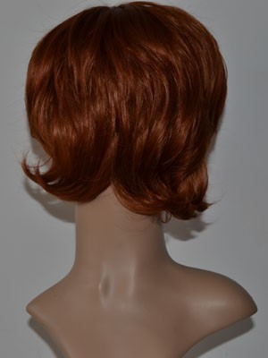 Straight Synthetic Fashionable Capless Wig - Image 3