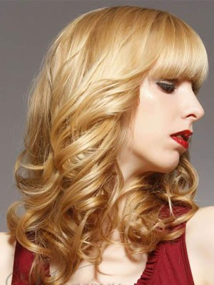 Medium Length Popular Wavy Capless Synthetic Wig - Image 2