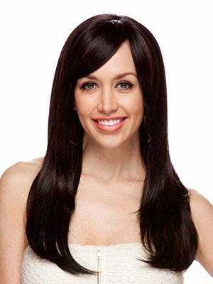 Synthetic Straight Chic Lace Front Wig - Image 1