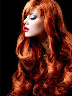 Wavy Full Lace Fashion Faddish No-fuss Wig - Image 1