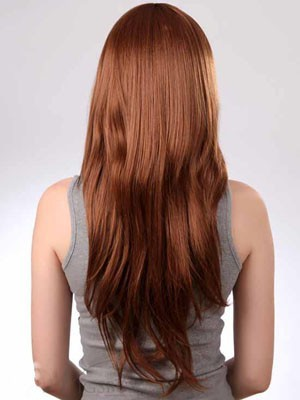 Straight Pretty Capless Long Synthetic Wig - Image 3