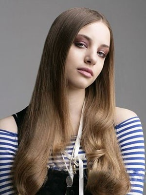 Long Lace Front Classic Human Hair Wig - Image 1